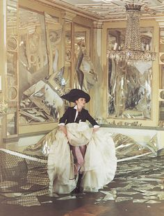 "Tim Walker ""Ballroom Blitz"" editorial"