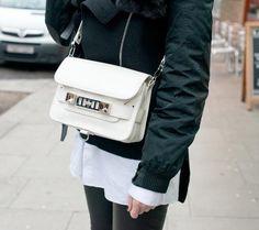Proenza Schouler PS11 in white