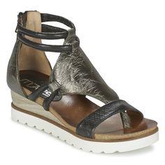 Mjus TAPAS Sandals Black / Silver