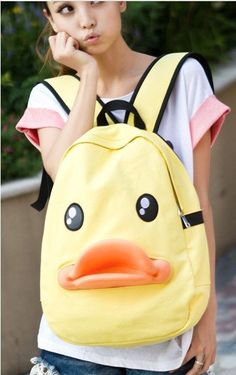 Want this duck backpack