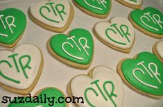CTR cookies for a Church party.   The kids loved these!  suzdaily.com