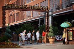 The restoration of the American Tobacco Historic Complex in Durham, NC.