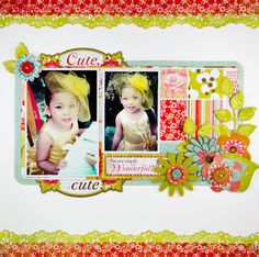 Paper scrapbook created by Lady Grace Belarmino, one of the traditional scrappers I admire.