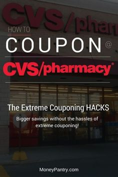 9d490caa7d7 How to Coupon at CVS (This Week): A Beginners Guide to Extreme Couponing