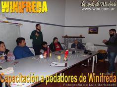 Se realizó capacitación a podadores en Winifreda