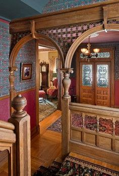 Victorian interior.