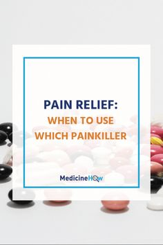 Are you baffled about when you should use which painkiller? Analgesic drugs like paracetamol, ibuprofen and aspirin all have a place in certain situations. Click through to find out when you should use each of them for pain relief!