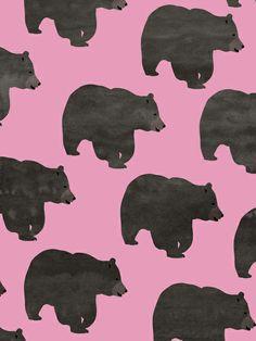 Bear Art Print by Georgiana Paraschiv   Society6