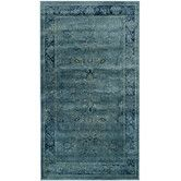 "Found it at Wayfair - Vintage Turquoise Area Rug $328.49 for 6'7"" x 9'2""."