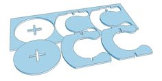 Taburete de paso madera taburete archivo de la por CncFactory