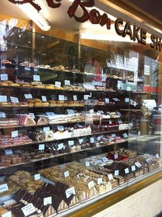 Gorging at the Cake Shop on Acland Street, St Kilda, Melbourne