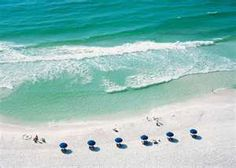 The beach at Destin, Florida