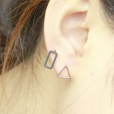 7 Style Punk Square Triangle pendientes Round Lightning Stud Earrings For Women Gold Silver Black ear Fashion Jewelry♦️ B E S T Online Marketplace - SaleVenue ♦️ http://www.salevenue.co.uk/products/7-style-punk-square-triangle-pendientes-round-lightning-stud-earrings-for-women-gold-silver-black-ear-fashion-jewelry/ US $0.39