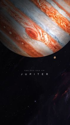 Customize your iPhone 6 Plus with this high definition Jupiter wallpaper from HD Phone Wallpapers! Outer Space Wallpaper, Space Phone Wallpaper, Galaxy Wallpaper, Jupiter Wallpaper, Planets Wallpaper, Space Planets, Space And Astronomy, Galaxy Space, Galaxy Art