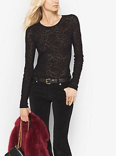 Lace Sweater by Michael Kors