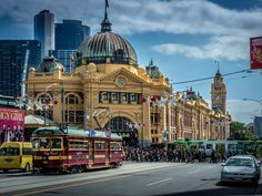 Quintessential Melbourne - Melbourne in one photograph