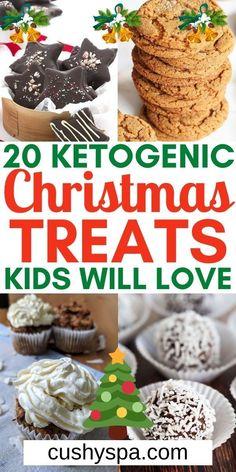 Kids Christmas Treats, Christmas Sweets, Holiday Treats, Christmas Christmas, Christmas Cookies, Ketogenic Recipes, Ketogenic Diet, Diet Recipes, Keto Cookies