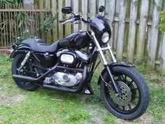 96 Sportster sport 1200 club style built by Dave Johnson in Clearwater Florida