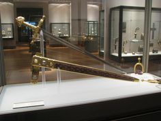 Joyeuse! The Sword of Charlemagne.