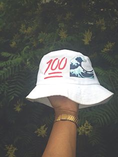 White emoji bucket hat ~ pinterest: @xpiink ♚