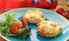 Ham and pineapple pizza muffins - Kidspot