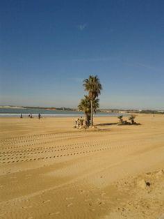 Playa de Valdelagrana.