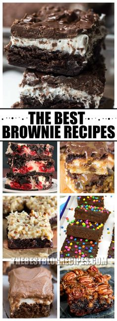 Who isn't obsessed with The Best Brownie Recipes for very Occasion? With so many twists on a classic favorite, this list has so many brownie treats that are absolutely to die for!