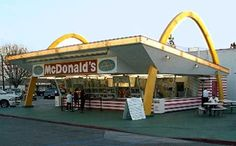 I remember the McDonald's in St. Charles, IL looking just like this when I was a kid!