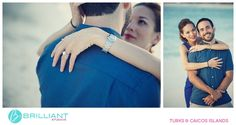 Just one day is all it took for Elizabeth and Daniel to be sure that they wanted to get married in Turks and Caicos