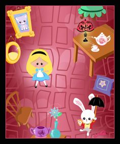 Alice Down the Rabbit Hole by beinel on deviantART