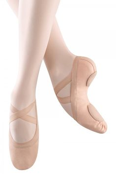 b782c64dfad Bloch Synchrony Pink Split Sole Stretch Canvas Ballet Slipper. These are  amazing!! Dance