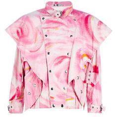 KANSAI YAMAMOTO VINTAGE shoulder flap jacket ($800)