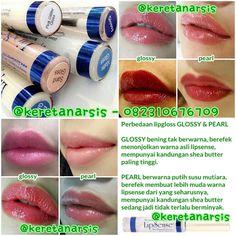 Perbandingan lipgloss glossy & pearl