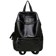 ==>DiscountKorean Fashion Black Leather Backpack Youth Women School Backpacks for Teenage Girls Soft Strap College mochila sac a dos femmeKorean Fashion Black Leather Backpack Youth Women School Backpacks for Teenage Girls Soft Strap College mochila sac a dos femmeyou are on right place. Here we hav...Cleck Hot Deals >>> http://id149057638.cloudns.ditchyourip.com/32751479046.html images