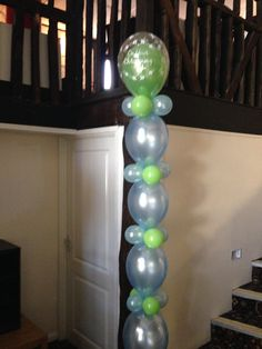 Link o Loon column display for Christening