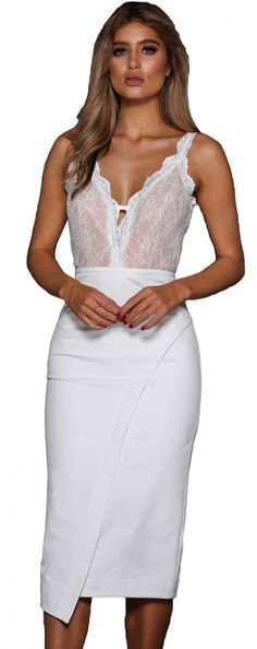 e20e6e70906 MIDI ΦΟΡΕΜΑ CORRIE λευκό - βραδινα φορεματα - Φορέματα Sexy Dresses,  Βραδινά Φορέματα, Μαγιό