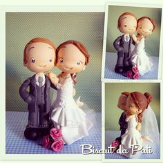 Wedding cake topper.