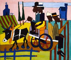 William H Johnson, 1940, Going to Church