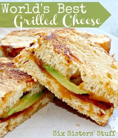 World's Best Grilled Cheese from Six Sisters' Stuff is the perfect lunch! It's amazing!