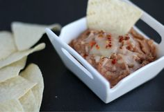 FAT FREE slow-cooker-refried-beans