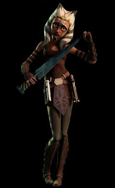 Ahsoka Tano;after being poisoned with the dark side when she was on Mortis