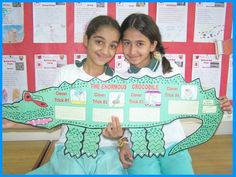 Roald Dahl Student Group Project Crocodile for The Enormous Crocodile # Pin++ for Pinterest #