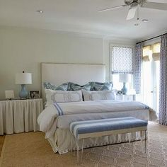 Striped Bench, Transitional, bedroom, Munger Interiors