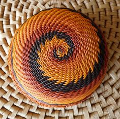 Zulu Telephone Wire Bowl handmade in South Africa, Fair Trade $18.99