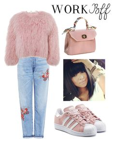 """""""Senza titolo #444"""" by kirsten-weigh on Polyvore featuring moda, Citizens of Humanity, Charlotte Simone e adidas Originals"""