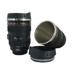Free shipping 60pcs/lot CPAM stainless steel Coffee camera lens mug cup (Caniam) logo the 5th generation Wholesale
