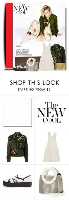 """Just Cool...."" by sue-mes ❤ liked on Polyvore featuring Versace, AG Adriano Goldschmied and Opening Ceremony"