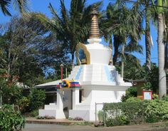 Pa'ia, Maui - Maui Dharma Center. The stupa and temple grounds were consecrated by the Dalai Lama on April 24, 2007 (Aug 23, 2014)