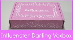 Influenster Unboxing - Darling VoxBox!