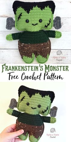 Frankenstein's Monster - Spin a Yarn Crochet